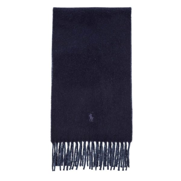POLO Ralph Lauren Blue Revers Scarf