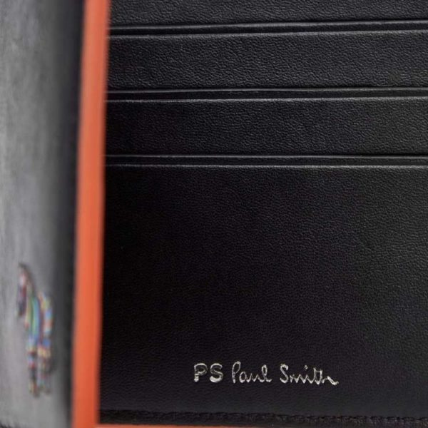 Paul Smith Billfold wallet zebra PS logo