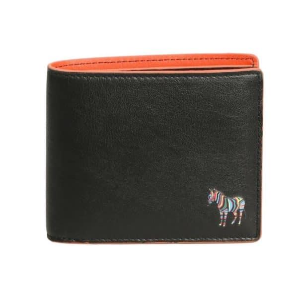 Paul Smith Billfold wallet zebra front