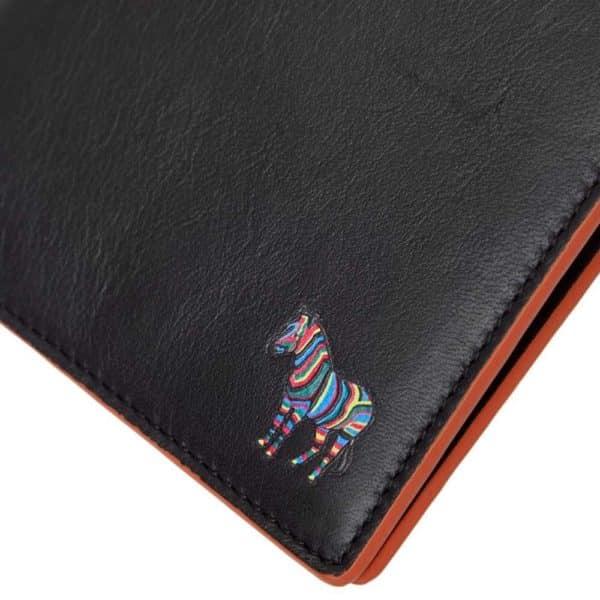 Paul Smith Billfold wallet zebra logo