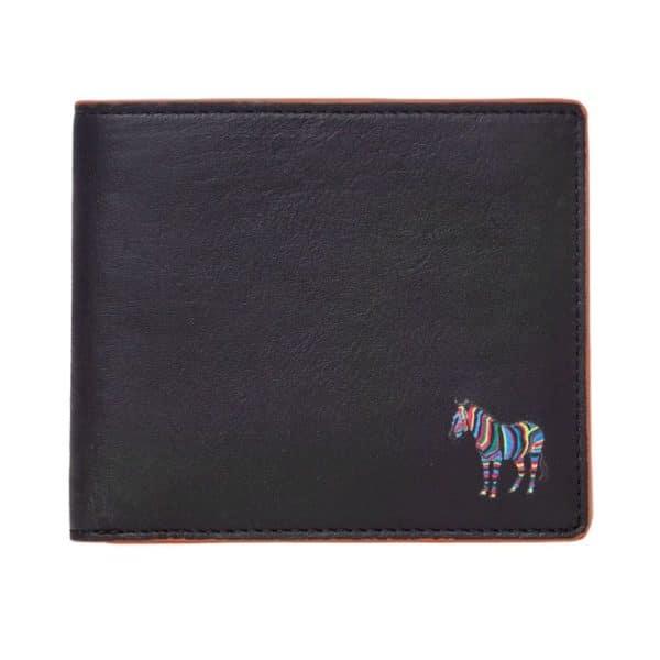 Paul Smith Billfold wallet zebra main