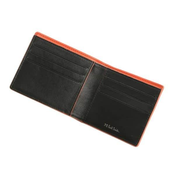 Paul Smith Billfold wallet zebra open