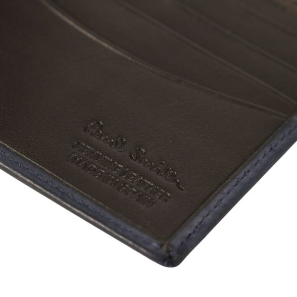 Paul Smith Chain embossed wallet navy 2
