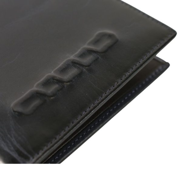 Paul Smith Chain embossed wallet navy 3