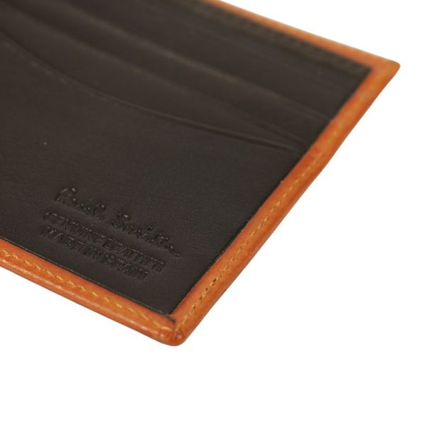 Paul Smith Chain embossed wallet rust 1