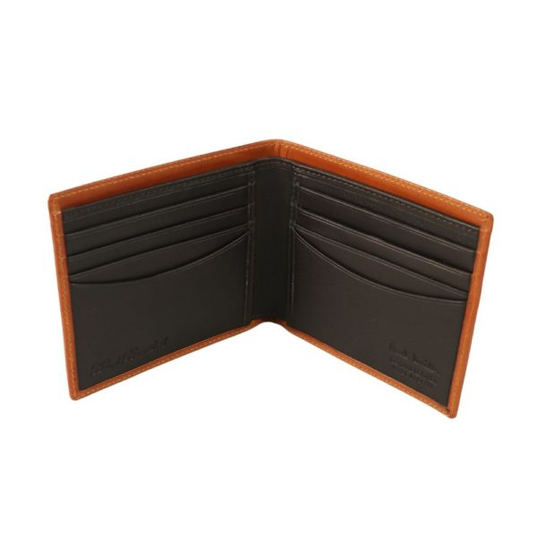 Paul Smith Chain embossed wallet rust 2