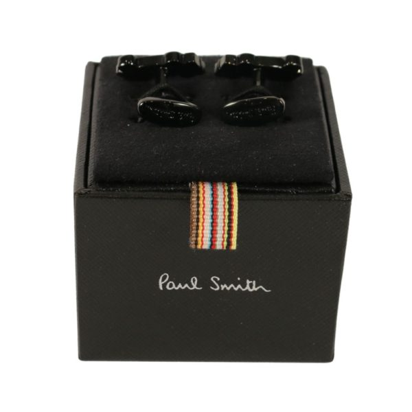 Paul Smith F1 cufflinks box back