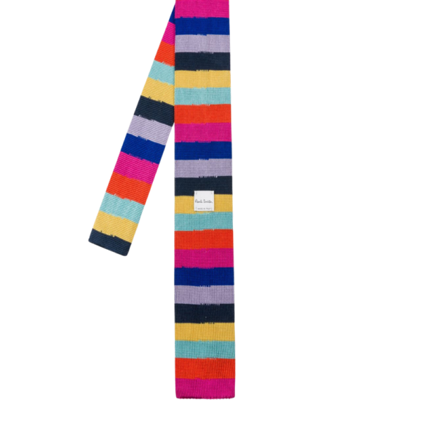 Paul Smith Knitted tie multi back