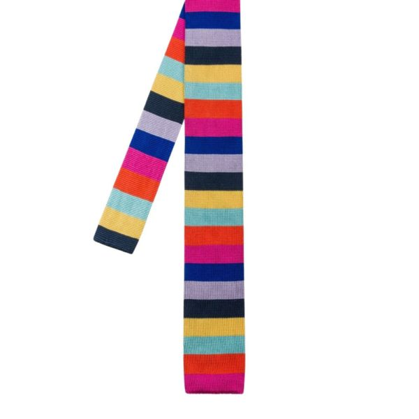 Paul Smith Knitted tie multi main