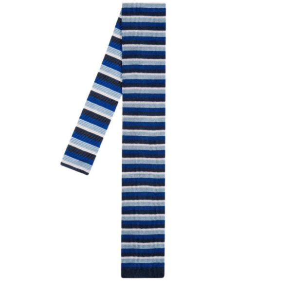 Paul Smith Knitted tie navy main