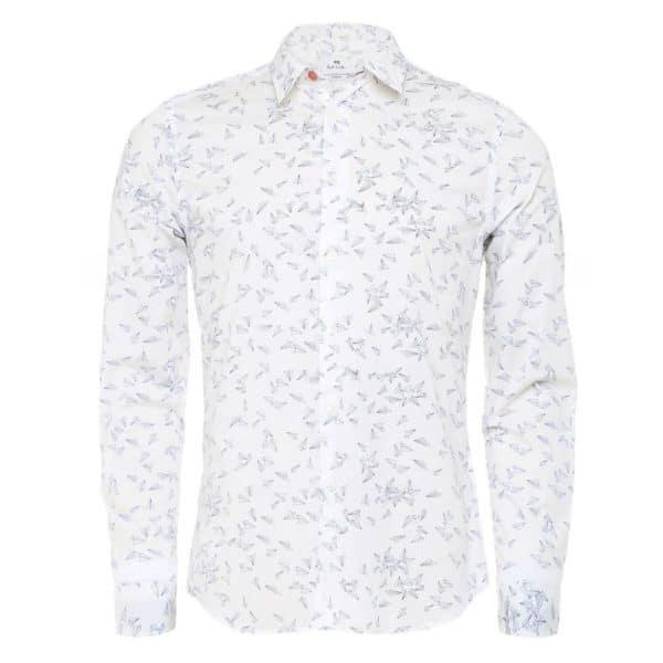 Paul Smith Long Sleeve Paper Plane shirt