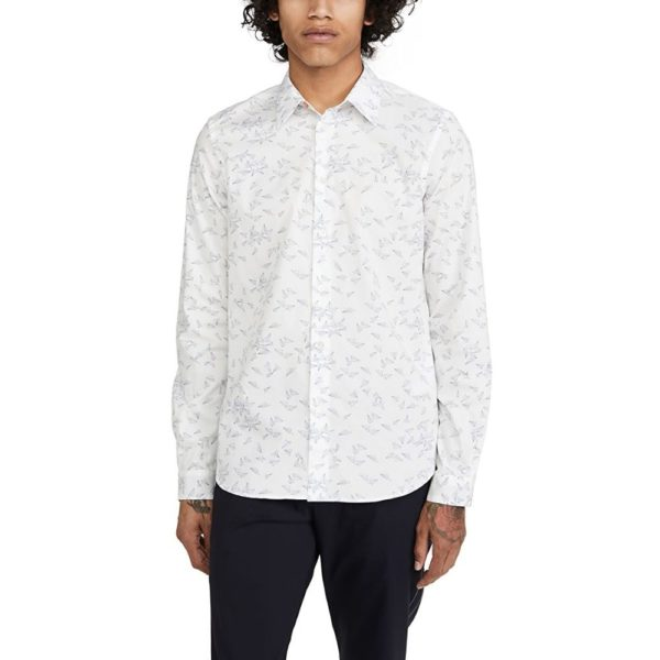 Paul Smith Long Sleeve Paper Plane shirt tailored