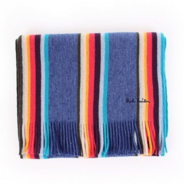 Paul Smith Mens twisted artist scarf