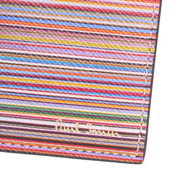 Paul Smith Mixed Stripe Wallet logo