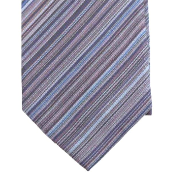 Paul Smith Multi Stripe Grey close up 1