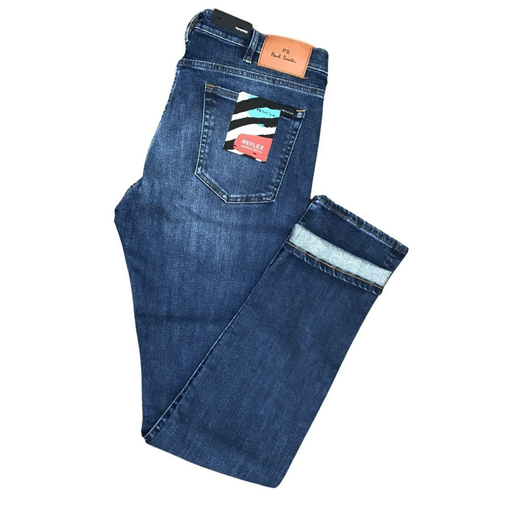 Paul Smith Tapered Jeans Soft Stretch mid wash1