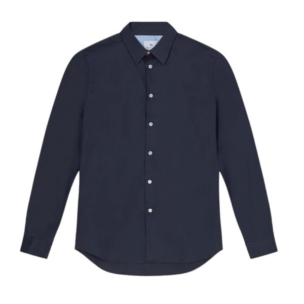 Paul Smith mens tailored shirt navy
