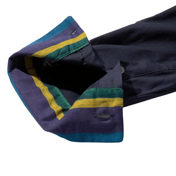 Paul Smith mens tailored shirt navy cuff