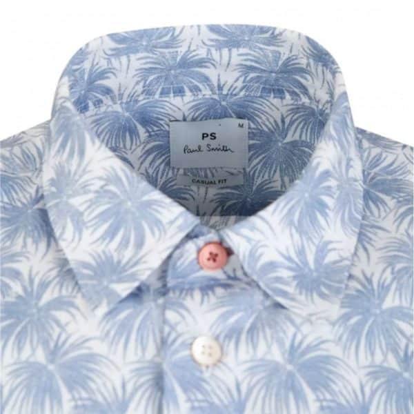 Paul Smith tailored palm tree shirt