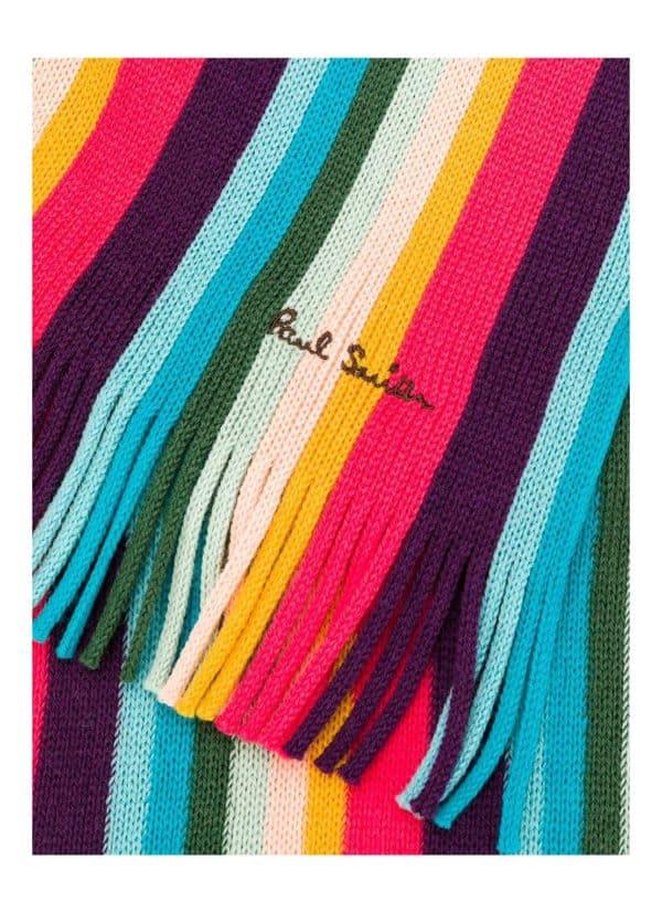 Paul smith mens scarft artist logo