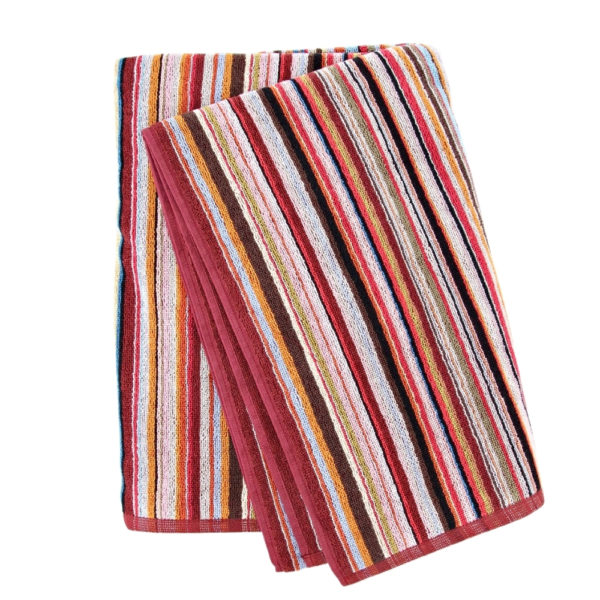Paul smith multicolour stripe folded towel