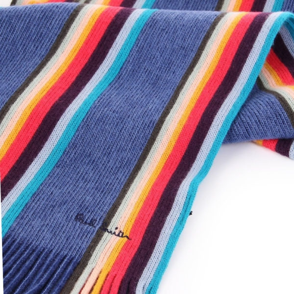 Paul smith twisted artist scarf logo