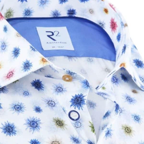 R2 shirt sunflower collar
