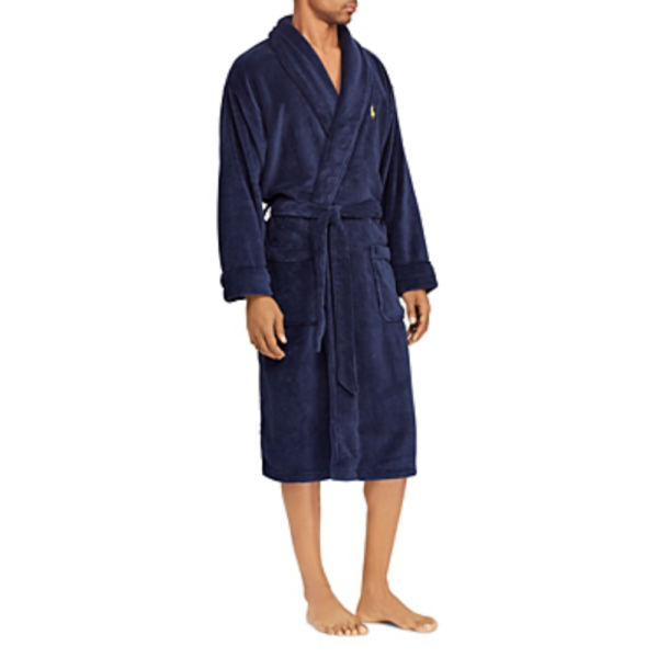 Ralph Lauren navy bath robe