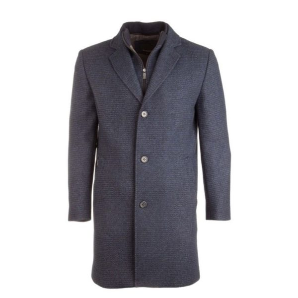 Roy RObson fine structured navy coat 1