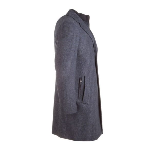 Roy RObson fine structured navy coat 3