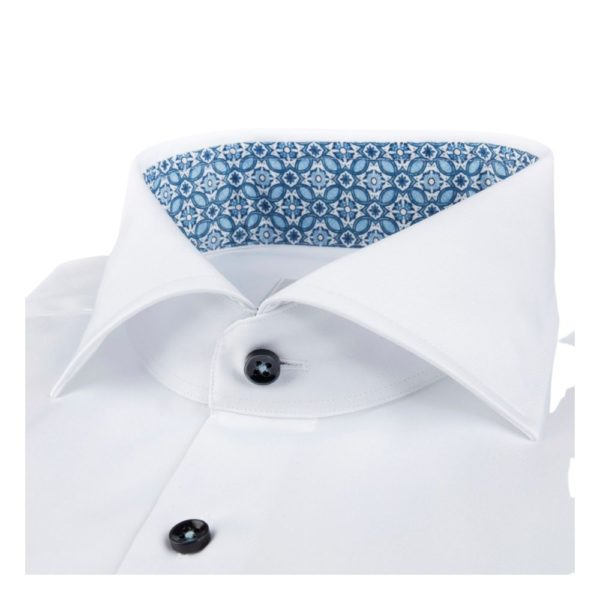 Stemstroms White Contrast collar collar