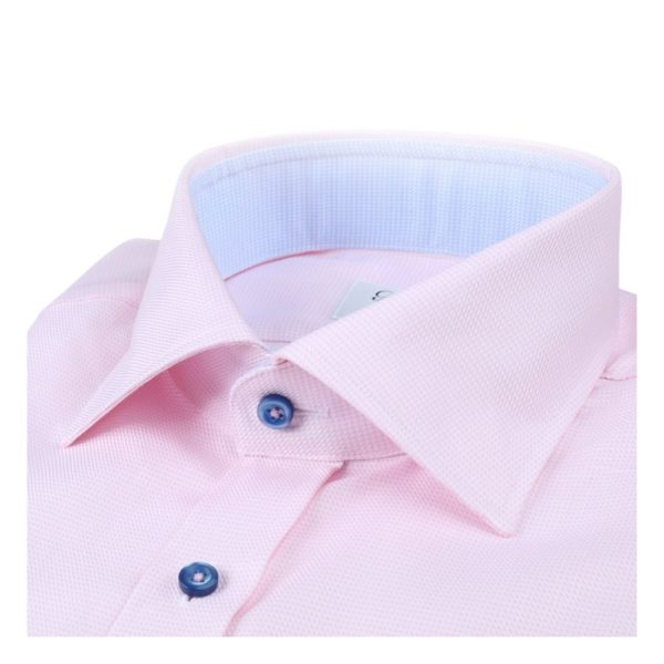 Stenstroms Pink Shirt collar
