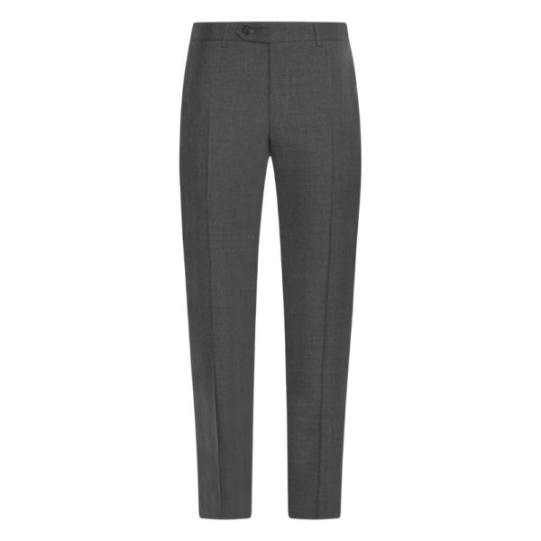 canali mid grey trousers