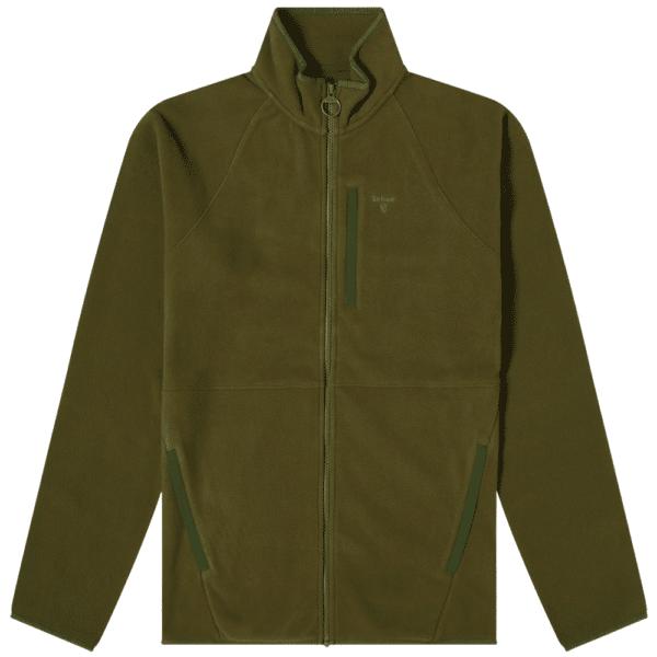 fleece green front