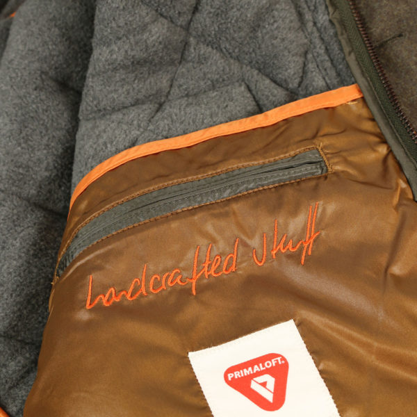 handcrafted jacket