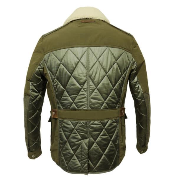 handcrafted jacket back