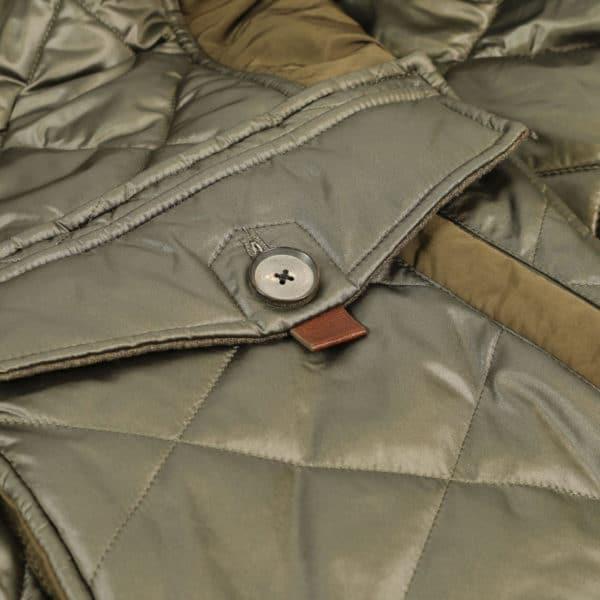 handcrafted jacket pocket detail