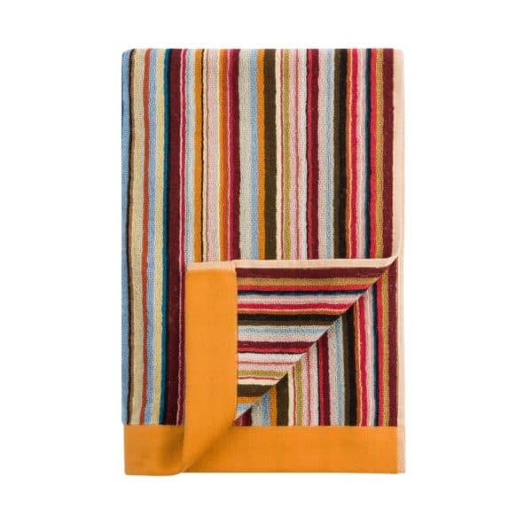 orange trim paul smith towel