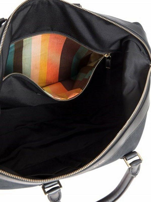 paul smith folio travel bag inside stripe