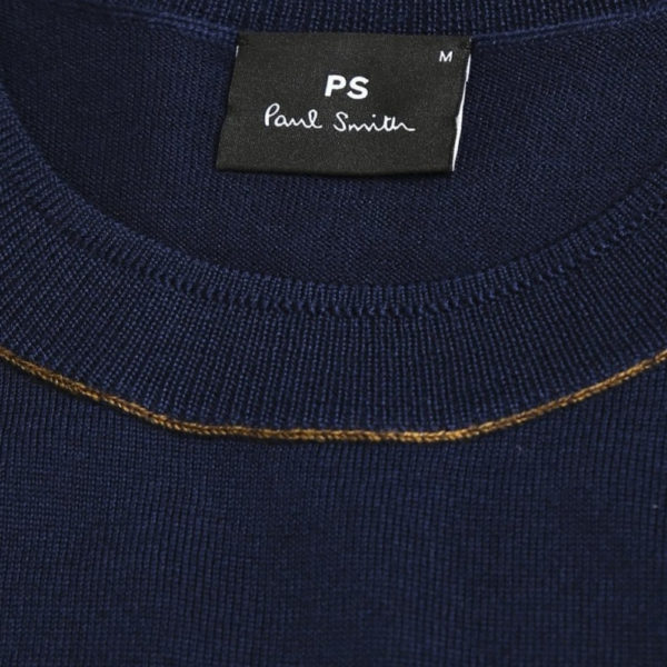 paul smith hnavy pullover collar