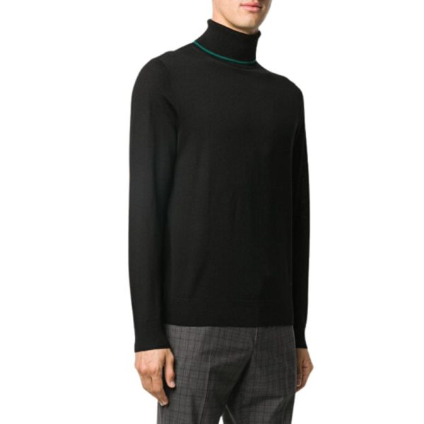 paul smith pullover roll neck black 1
