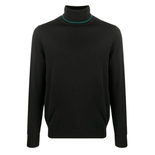 paul smith pullover roll neck black 2
