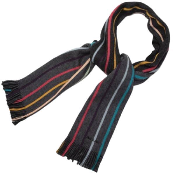 paul smith twist artist grey scarff