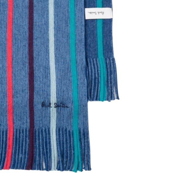 paul smith twisted navy scarf 2