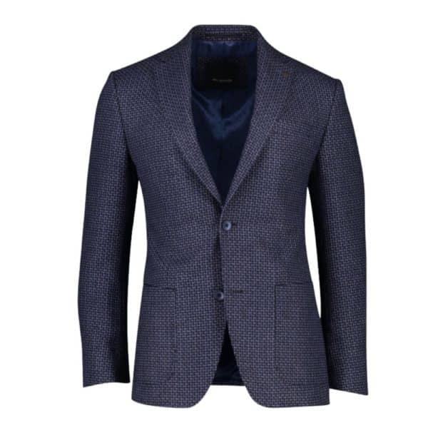 roy robson navy check jacket 4