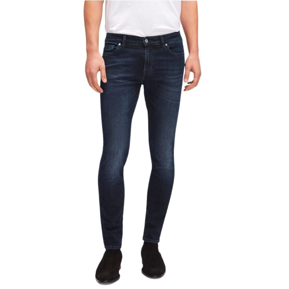 7 FOR ALL MANKIND RONNIE LUXE PERFORMANCE HUNTLEY DARK BLUE