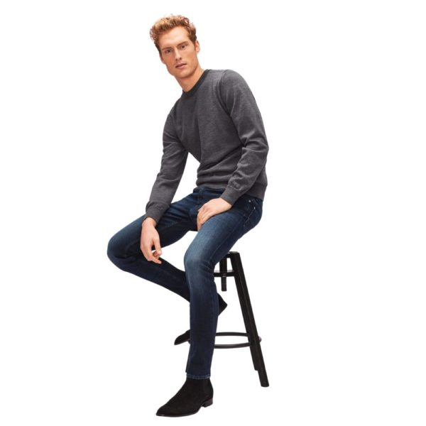 7 FOR ALL MANKIND RONNIE LUXE PERFORMANCE HUNTLEY DARK BLUE2