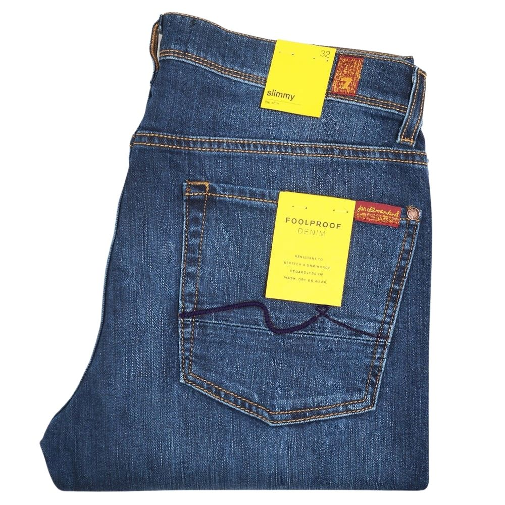7 FOR ALL MANKIND SLIMMY FOOLPROOF DENIM