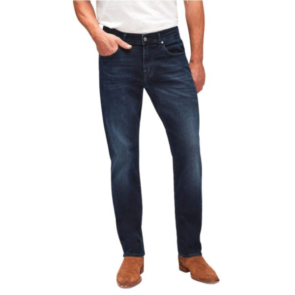 7 FOR ALL MANKIND SLIMMY LUXE PERFORMANCE DARK BLUE