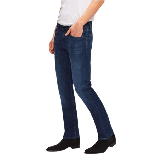 7 FOR ALL MANKIND SLIMMY LUXE PERFORMANCE INDIGO BLUE